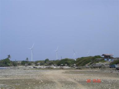 15MW Playa Kanoa Wind Farm, Curacoa