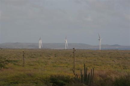 15MW Tera Kórá Wind Farm, Curacoa