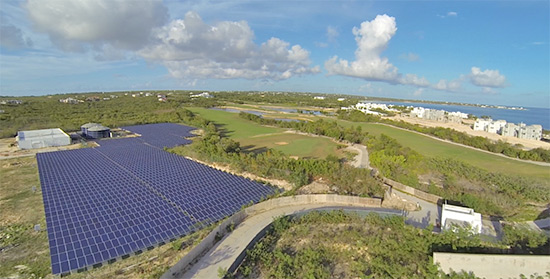 entire solar energy plant at cuisinart